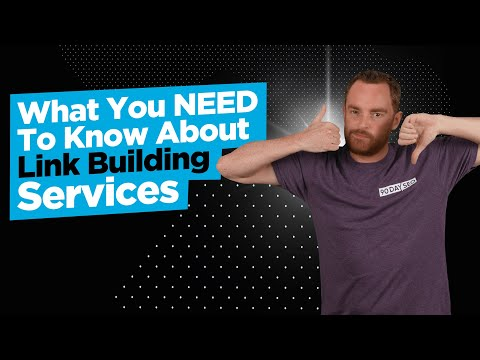 What You NEED To Know About Link Building Services 1