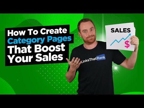 How To Create Category Pages That Boost Your Sales