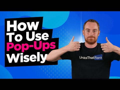 If You Are Using Pop-ups On Your Site, Watch This Video Now!