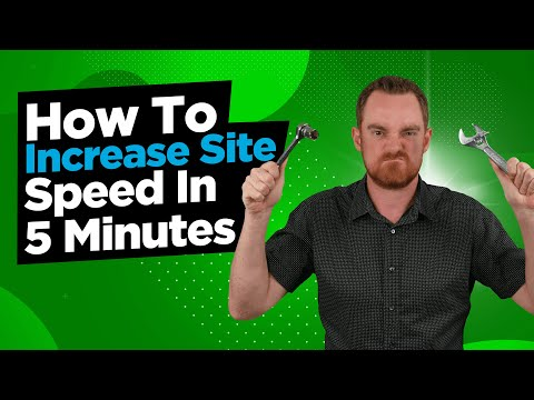 How To Increase Website Speed In 5 Minutes